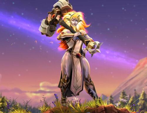 Así es Dawnbreaker, la nueva heroína de Dota 2